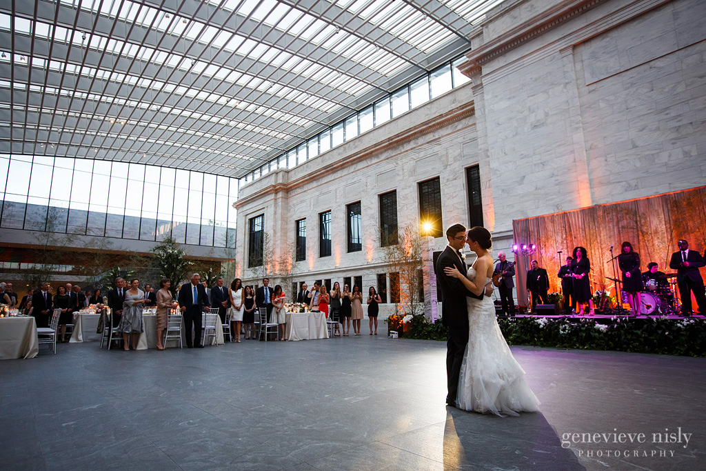 Cleveland Art Museum bride and groom dancing - CS and TREP lighting