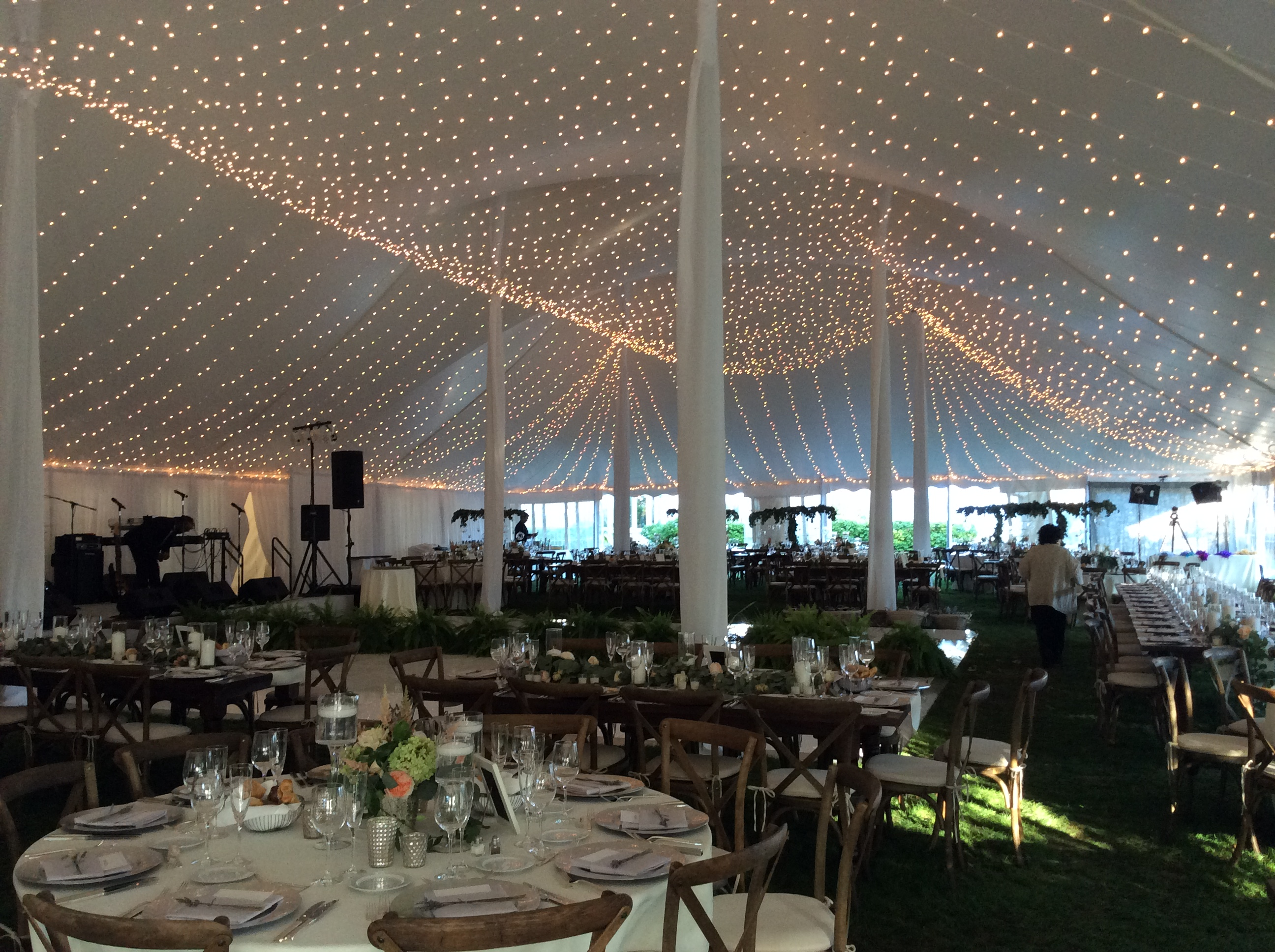 special tent lighting
