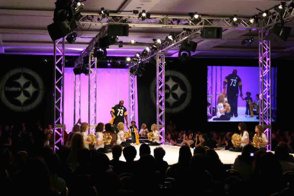 steeler fashion show