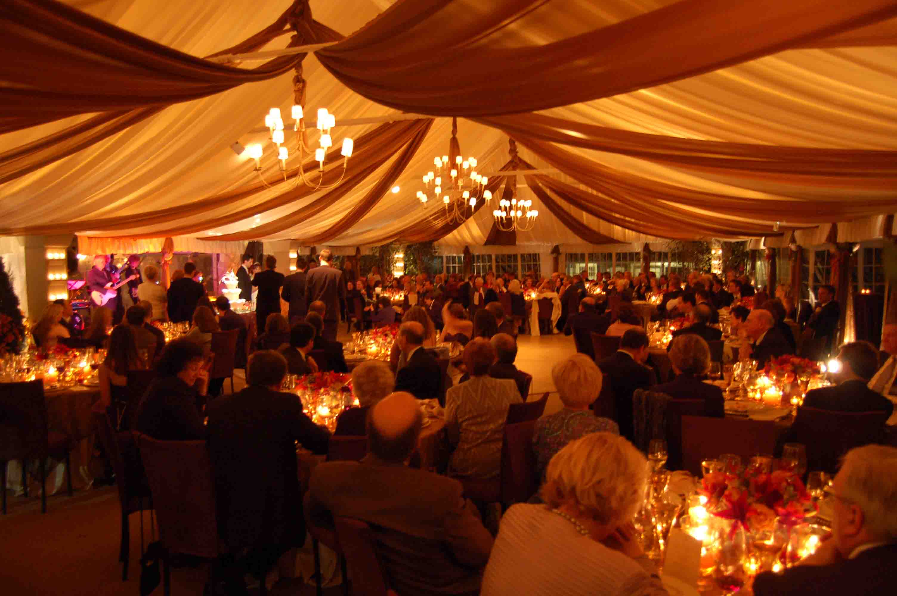 tent lighting decor